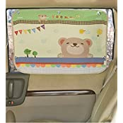 Car Sun Shade Curtain For Side Window For Baby Kids Children - Car Sunshade Protector - Protect Kids Pets From...