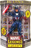 """Marvel Icons 12"""" Series 1 - Masked Captain America"""