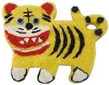 西川庄六商店 バッジ フェルト素材のブローチ by NIPPONの縁起物 虎