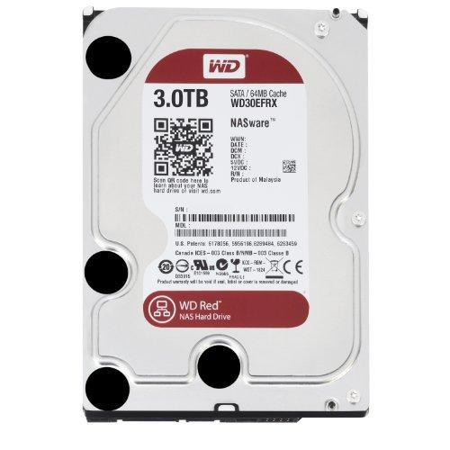 WD 3TB Desktop SATA Hard Drive for NAS - OEM - Red