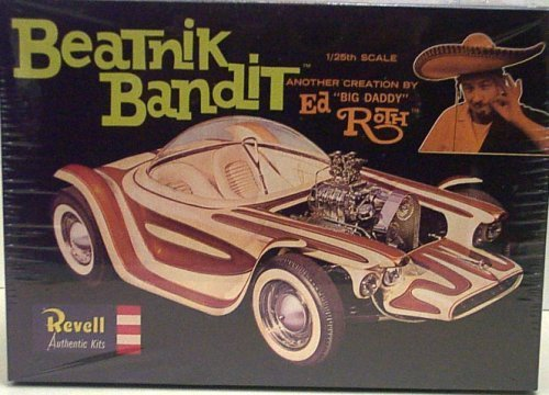 "Revell 1279 Beatnik Bandit - Ed ""Big Daddy"" Roth Creation - Plastic Model Kit - 1:25 Scale by Revell [並行輸入品]"