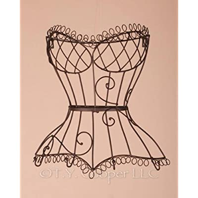 Wrought Iron Wall Dress Form - Basket coupon codes 2015