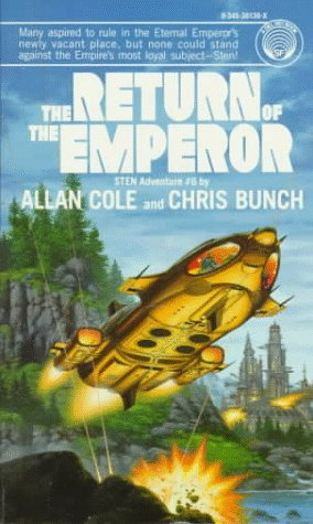 Return of the Emperor (Sten, No 6), Allan Cole, Chris Bunch