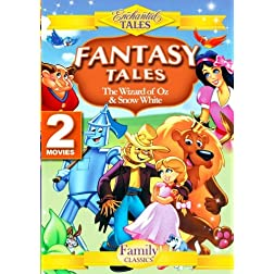 Fantasy Tales (2 Disc Set) - Wizard of Oz, Snow White