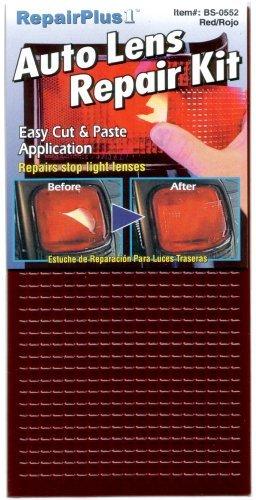 Auto Lens Tail Light Repair Kit (Red)