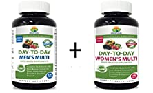 buy Briofood, Day-To-Day Men'S Multi 180 Tablets And Women'S Multi 180 Tablet - Combo Pack