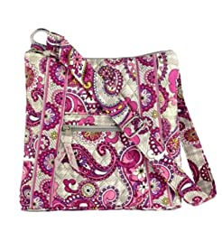 Vera Bradley Hipster in Paisley Meets Plaid