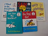Dr. Seuss Book Set (6): Snow - Sam & the Firefly - Are You My Mother - Go Dog Go - Wacky Wednesday - I Want to Be Somebody New (An Unofficial Dr. Seuss Box Set : Beginner Books) (1483968383) by Dr. Seuss