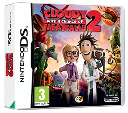 Cloudy with a Chance of Meatballs 2 (Nintendo DS)