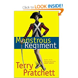 Monstrous Regiment: A Novel of Discworld US cover pratchett