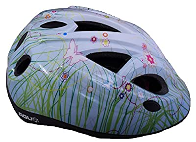 AGU BUTTERFLY GIRLS KIDS SAFETY CRASH PROTECTIVE CYCLING HELMET 52-57cm by AGU