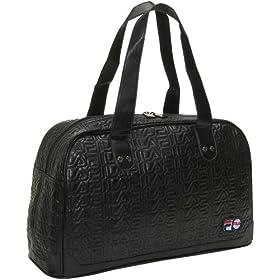 Fila Women's Signature Quilt Bowler Hand Bag