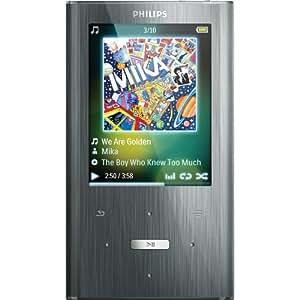 Philips GoGear Ariaz 8 GB MP3 Player (Silver)
