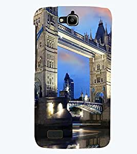 PRINTSWAG BRIDGE VIEW Designer Back Cover Case for HUAWEI HONOR HOLLY