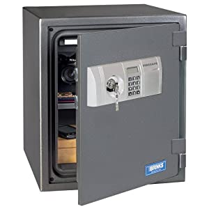 Brink 39 s home security 5118d 1 hour digital steel fire safe for Brinks home security