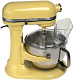 KitchenAid KP2671XMY Professional 6-Quart Stand Mixer, Majestic Yellow