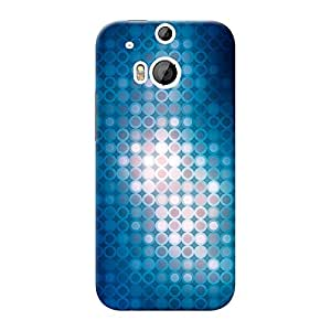 Mobile Back Cover For HTC Desire One M8 (Printed Designer Case)