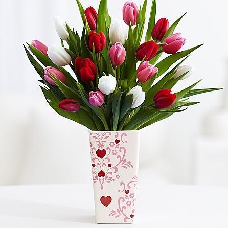 20 Sweetheart Tulips