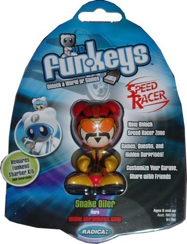 Funkeys Speed Racer Rare Snake Oiler