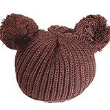 PromiseTrue Cute Unisex Baby Cap Knitting HatCoffee