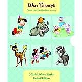 Walt Disney's 6 Little Golden Books: Bambi/Dumbo/Mother Goose/Pinocchio/Scamp/Three Little Pigs ~ Golden Books