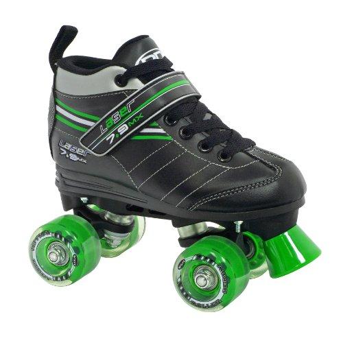 Roller Derby Boy's Laser Speed Quad Skate, Size 08