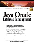 Java Oracle Database Development (0130462187) by Gallardo, David