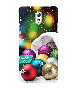 Vizagbeats Festival Decorative Balls Back Case Cover for Lenovo Vibe P1m