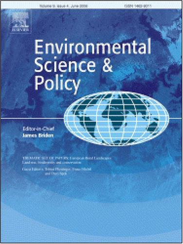 Financial sustainability of environmental investment under an empirical pollution abatement policy instrument in India: the case of wastewater treatment ... from: Environmental Science and Policy]