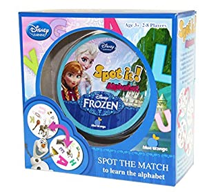 Spot it! Disney Frozen - Alphabet by BLUE ORANGE GAMES