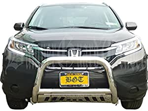 "Amazon.com: BGTBB-454SS 12-15 HONDA CRV FRONT 3"" BULL BAR WITH SKID"