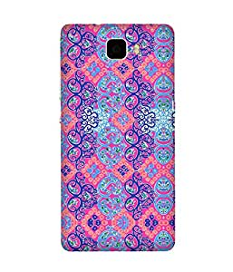 India Print Abstract Huawei Honor 7 Case