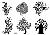GGSELL GGSELL new release look like real temporary tattoos stickers different kind of trees design