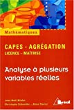 Analyse  plusieurs variables relles