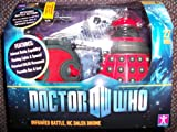 DOCTOR WHO RADIO CONTROLLED DALEK DRONE RED