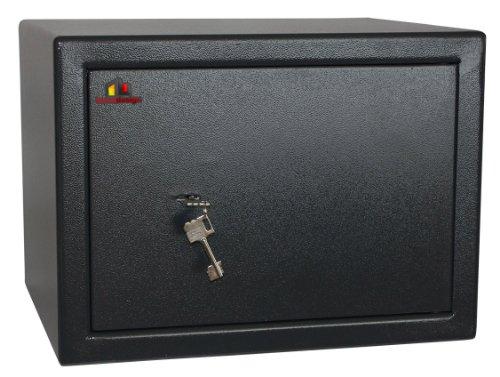 HomeDesignSafe Tresor Möbeltresor HDS-40B Doppelbartschloss Sicherheitsstufe B nach VDMA 24992
