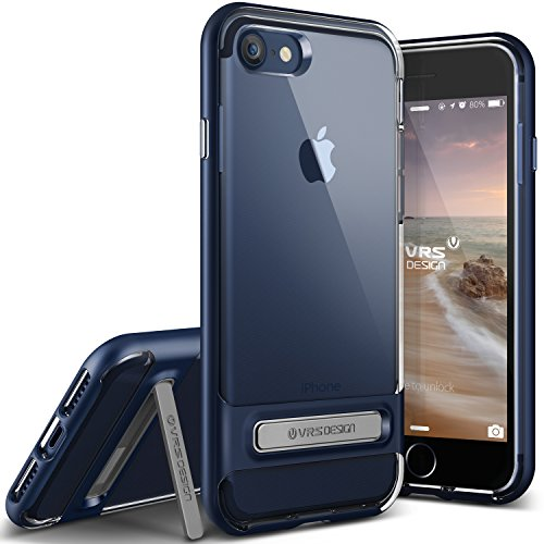 vrs-design-funda-iphone-7-crystal-bumpersteel-azul-transparente-caseshock-absorcion-coverkickstand-p