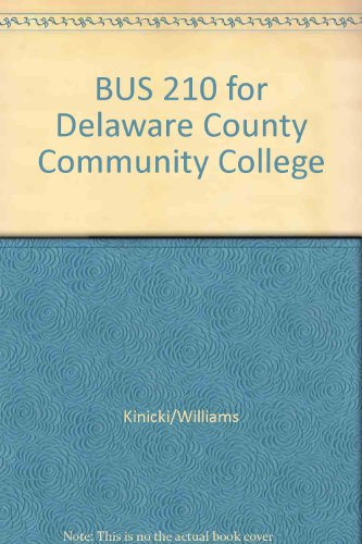 BUS 210 for Delaware County Community College