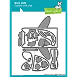 Lawn Fawn 1557 Woodland Critter Huggers Metal Embossing and Cutting dies for DIY Card Making, Crafts and Scrapbooking and Make Your Own Lunchbox Kids Note Cards | Paper and Cardstock Die Cuts Supplies (Color: Grey)