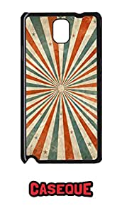 Caseque Fake Illusion Art Back Shell Case Cover for Samsung Galaxy Note 3