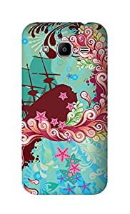 SWAG my CASE Printed Back Cover for SAMSUNG GALAXY J2 2016 EDITION