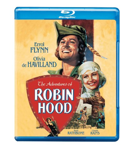 Cover art for  The Adventures of Robin Hood [Blu-ray]