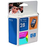 Original HP 28 Tri-Color Ink Cartridge in Retail Packaging ~ HP