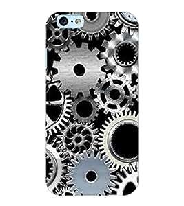 ColourCraft Clock Locks Design Back Case Cover for APPLE IPHONE 6S