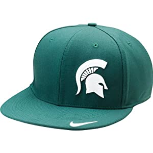 Nike Michigan State Spartans 643 Sideline Swoosh Flex Hat L/XL