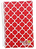 bloom daily planners 2015 Calendar Year Planner - Passion/Goal Organizer - Fashion Agenda - Weekly Diary - Monthly Datebook - (January 2015 Through December 2015) Red Quatrefoil