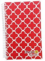 Academic Year OR Calendar Year Daily Planner - Pink Trellis Cute Fashion Day Planner by bloom daily planners. Academic Year (August - July) OR Calendar Year (January - December) Versions Available - Select Below