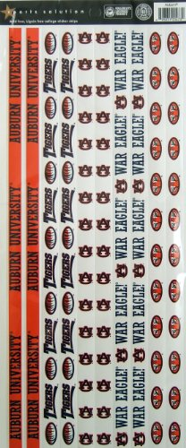 Sports Solution Auburn Tigers Border Sticker