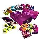 Zumba Fitness Exhilarate Coffret 7 DVD + 3 CD Inclus les 2 haltères et le Livret