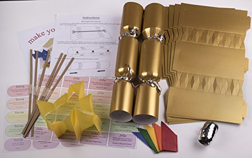 10-x-make-your-own-large-14-35cm-cracker-kit-gold